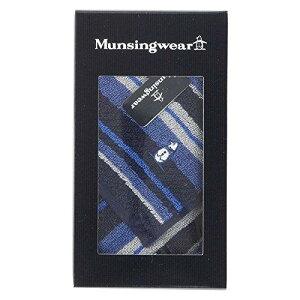Gift Box マンシングウェア 紳士タオルハンカチーフ  03540555A