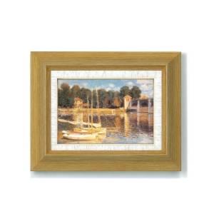太田アート モネ名画額サム 1746440・アルジャントーユの橋 (1193al)【smtb-s】