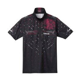 サンライン PROドライシャツ(半袖) SUW-5573CW ブラック 3L【smtb-s】