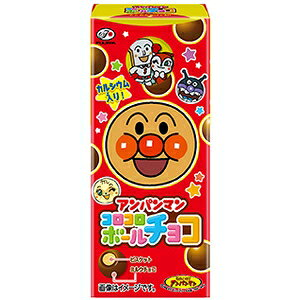 不二家 アンパンマンコロコロボール(チョコ) 20g【入数:10】【smtb-s】