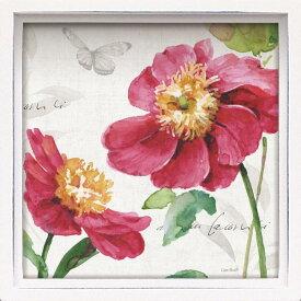ユーパワー ロハス ミニアートフレーム リサ オーディット「ピンク ガーデン2」 LA-01245【smtb-s】