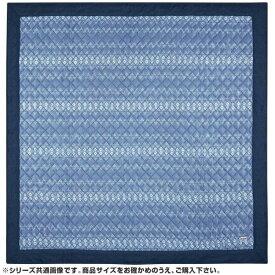 萩原 接触冷感 キルトラグ キリムクール 約130×185cm ブルー 240613505 (1354025)【smtb-s】