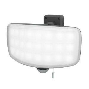 ムサシ 27Wワイドフリーアーム式LEDセンサーライト (LED-AC1027)【smtb-s】