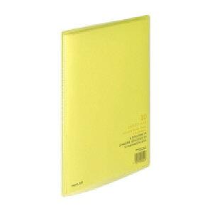 コクヨ クリヤーブック〈キャリーオール〉(固定式)A4縦10枚ポケット 黄 (ラ-2Y)