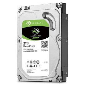 シーゲイト BarraCuda 7200シリーズ 3.5inch SATA 6Gb/s 2TB 7200rpm 256MB 4Kセクター(ST2000DM008)【smtb-s】