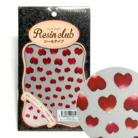 イングカワモト(Ing Kawamoto) レジンクラブ レジンシール Heart-shaped petals (両面印刷) RC-HSP-101 (1408731)