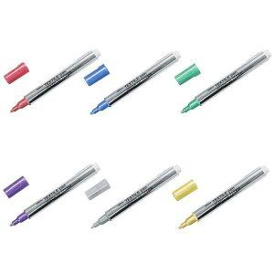 マービー TEXTILE pen disco GLITTER 6色セット 50222-0D6A (1352838)