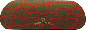 現代百貨 BOOK LOVERS メガネケース スリム RED レッド A246RD (1153001)【smtb-s】