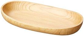 ヤマコー 木製くりぬき舟形ボウル クリアー 大 32393【smtb-s】