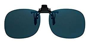 OHKEI OPTICAL(オーケー光学) 偏光サングラス ER(エロイコ) クリップオン 二眼タイプ BV-21 偏光ダークグレー (1114559)【smtb-s】