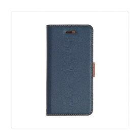 テレホンリース ラスタバナナ iPhone8/7/6s/6 ケース/カバー 手帳型 +COLOR 衝撃吸収 薄型 サイドマグネット NV×BR 3436IP7SA