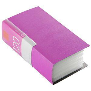 バッファロー CD&DVDファイルケース ブックタイプ 120枚収納 ピンク(BSCD01F120PK)【smtb-s】