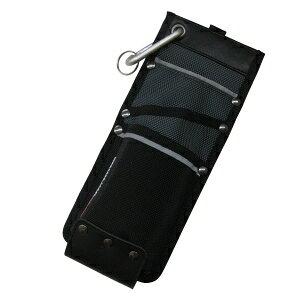 ワーカーズレーベル(WORKERS LABEL) [ワーカーズレーベル] ポーチ ベルトクリップ式カッター差しL CUL-2 ブラック ブラック