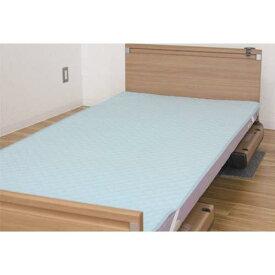ウェルファン 洗えるベッドパッド(防水タイプ)ブルーSレギュラー【smtb-s】