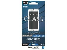 テレホンリース ラスタバナナ iPhone8/7/6s/6 平面保護強化ガラス(0.33mm/高光沢) GP882IP83