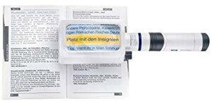 エッシェンバッハ 158064オキガタライトルーペ3X 置型LEDライトルーペ角型3倍(ディオプター:7.6)/100×50mm 1580-64