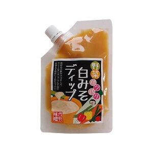 六甲味噌製造所 野菜パクパク 白みそディップ (チューブタイプ) 120g×12個 (1444593)【smtb-s】