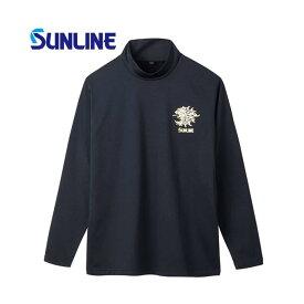 サンライン ボアストレッチハイネックシャツ SUW-5576HT M【smtb-s】