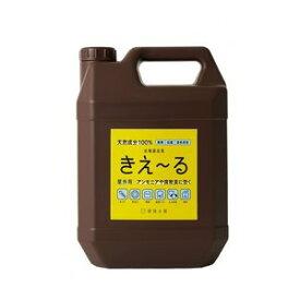 環境ダイゼン 【大容量】 バイオ消臭液濃縮タイプきえ〜る 屋外用4L