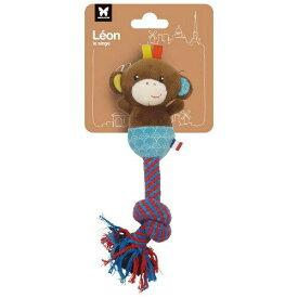 プラッツ ペット おもちゃ 犬用玩具 BabyDog レオン(モンキー) ツイストロープ MS10624 (1385675)【smtb-s】