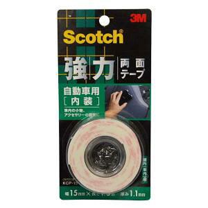 3M (スリーエム) スコッチ 強力両面テープ 自動車用(内装)