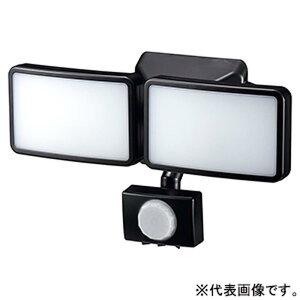 ヤザワ LEDセンサーライト ソーラー式 防雨タイプ 調光タイプ 3W白色LED×2灯 リモコン付 SLR3LES2