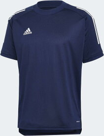 adidas 01_CON20トレーニングシャツ- (FYZ18) [色 : チームNVY_BLU/W] [サイズ : J/S]【smtb-s】