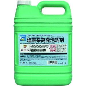 大一産業 塩素系高発泡洗剤 ファースト・フォーミングクリーナー 5kg 23020089 (1418722)