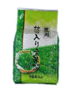 カネイ一言製茶 業務用抹茶入り玄米茶 1kg【smtb-s】
