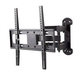 朝日木材加工 FLM001 ウォールフィットマウント 推奨テレビサイズ 26〜55V FLM-001-BK ブラック