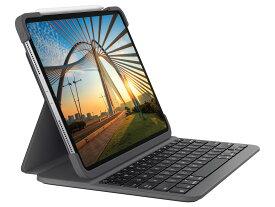 ロジクール SLIM FOLIO PRO for iPad Pro 11第1/ 2世代用 KB一体型ケース(IK1174A)【smtb-s】
