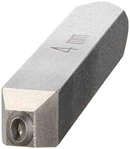 TRUSCO TRUSCO バラ刻印4mm0 SKD-40-0 2285614