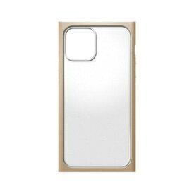 PGA iPhone 12 mini用 ガラスタフケース スクエアタイプ ベージュ(PG-20FGT07BE)