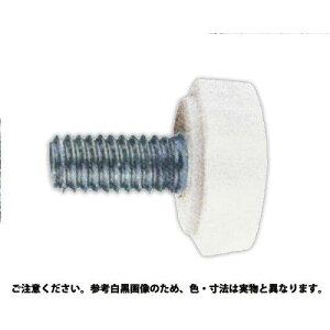 サンコーインダストリー 白 花ボルト(No2) 表面処理(三価ホワイト(白)) 規格(4 X 8) 入数(500)