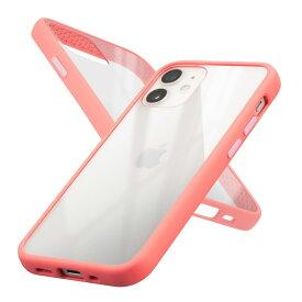 campino *Campino Anti-shock SlimCase for iPhone 12 mini/フラミンゴピンク(CP-I001-HYAS/PK)