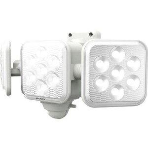 ライテックス LED-320 5w×3灯 フリーアーム式LED乾電池センサーライト