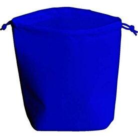 トラスコ中山 TRUSCO 不織布巾着袋 B5サイズ マチあり ネイビー 10枚入