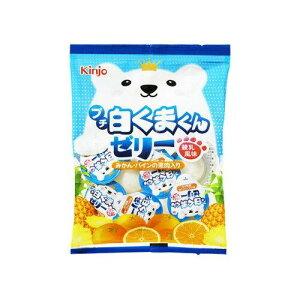 金城製菓 プチ白くまくんゼリー練乳風味【入数:20】
