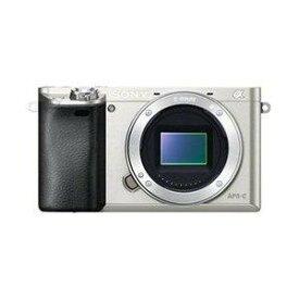 SONY デジタル一眼カメラ α6000 ボディ シルバー ILCE-6000/S(ILCE-6000/S)【smtb-s】