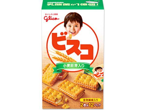 江崎グリコ ビスコ小麦胚芽入り 24枚【入数:5】