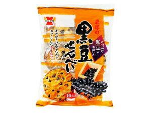 岩塚製菓 岩塚の黒豆せんべい 10枚【入数:12】【smtb-s】