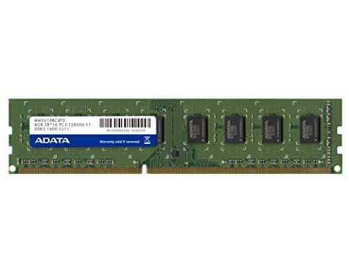 A-DATA メモリ 8GB DDR3 U-DIMM (1600) -512x8 リテールパッケージ(AD3U1600W8G11-R)【smtb-s】