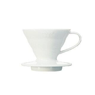 ハリオ V60透過ドリッパー セラミック VDC-01W 【 珈琲 コーヒー関連商品 】