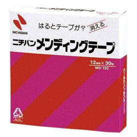 【まとめ買い10個セット品】メンディングテープ (小巻)巻芯径25mm MD-12C 1巻 ニチバン【 事務用品 貼 切用品 メンディングテープ 】【ECJ】