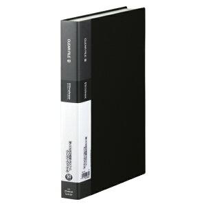 【まとめ買い10個セット品】 シンプリーズ クリアーファイル A4判タテ型(60ポケット) 136-3SP 黒 【ECJ】
