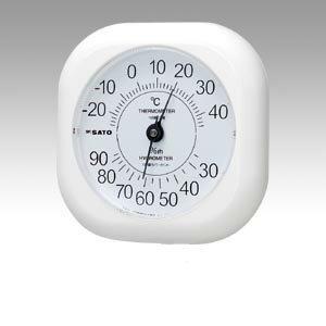 【まとめ買い10個セット品】温湿度計 ソフィア 1014-00 1個 佐藤計量器【 生活用品 家電 セレモニー アメニティ用品 温湿度計 】【ECJ】