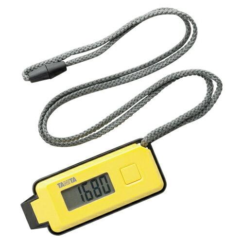 【まとめ買い10個セット品】3Dセンサー搭載歩数計 歩イッスル FB-738-YL イエロー 1個 タニタ【ECJ】