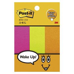 ポスト・イット[R] フレンドリーシリーズ ふせん 500-P2 ワインレッド、メロン、オレンジ各1個 混色3色 【ECJ】