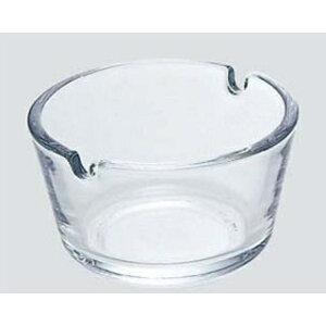 ガラス フィナール 灰皿 クリア P-05581-JAN【 卓上小物 】 【ECJ】