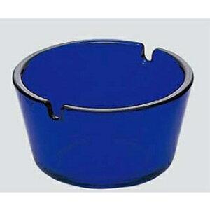 ガラス フィナール 灰皿 ブルー P-05581-DB-JAN【 卓上小物 】 【ECJ】